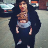 Harry Styles Talking with Baby Lux