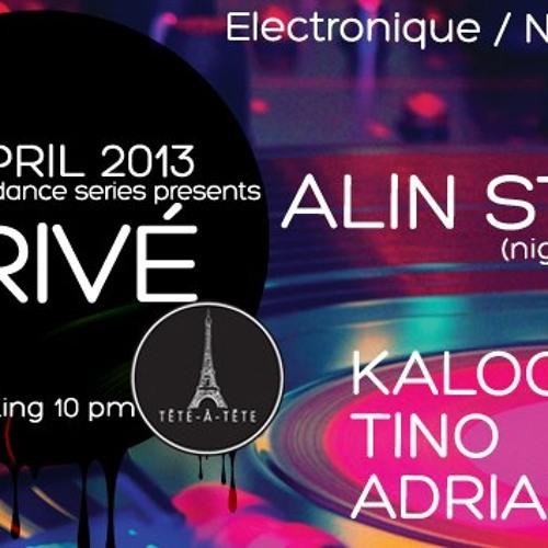 Tino live @ Tete a Tete - Prive - 14.04.2013 Live Cut ( Dance FM 89.5 )