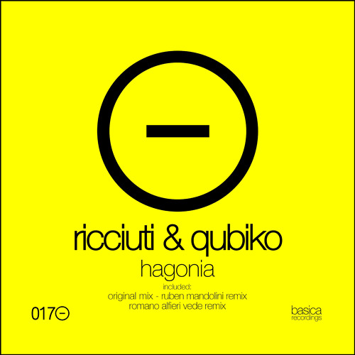 Fabio Ricciuti & Qubiko - Hagonia (Ruben Mandolini Remix) [Basica Recordings]