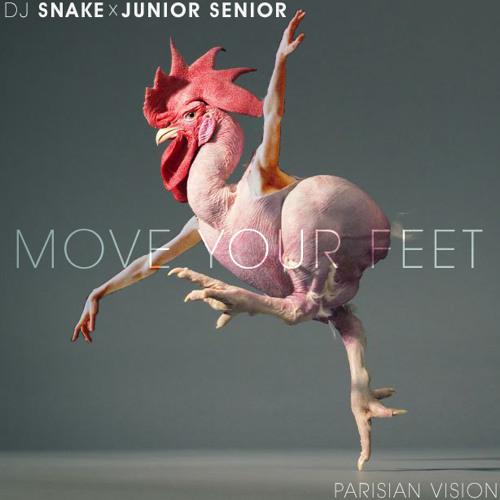 Dj Snake vs Junior Senior - Move Your Feet (Parisian Vision)