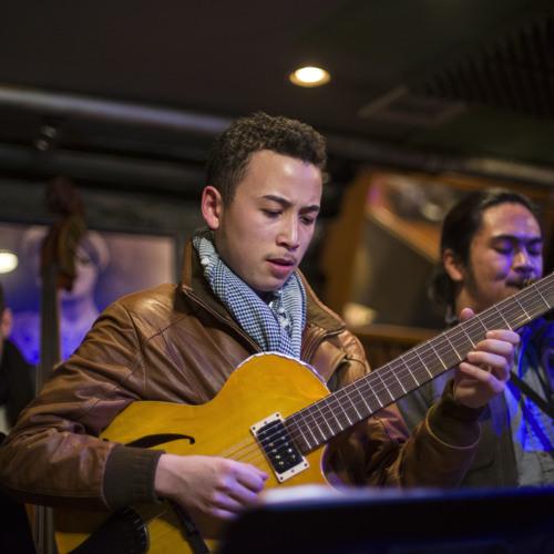 Poole's Tune (Just Gtr. Solo) LIVE @ Smalls Jazz Club