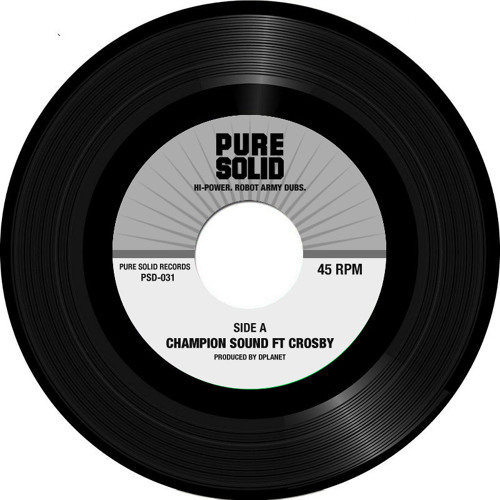 Champion Sound Ft. Crosby