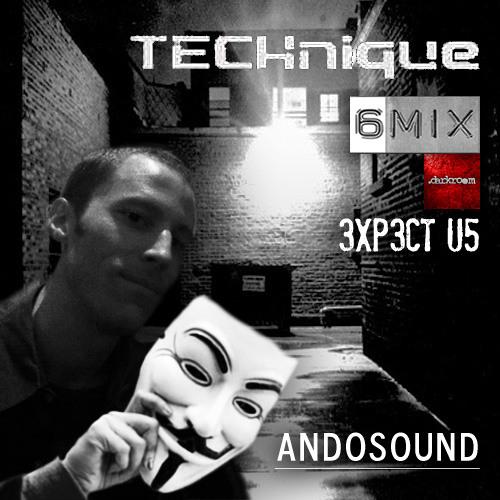 "Andosound .darkroom - TECHnique ""Backroom Takeover"" 6MIX"