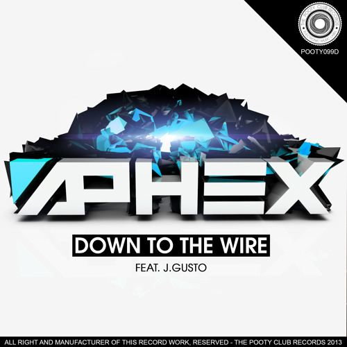 Aphex - Down To The Wire Feat J. Gusto (Original Mix) [OUT NOW ON BEATPORT]