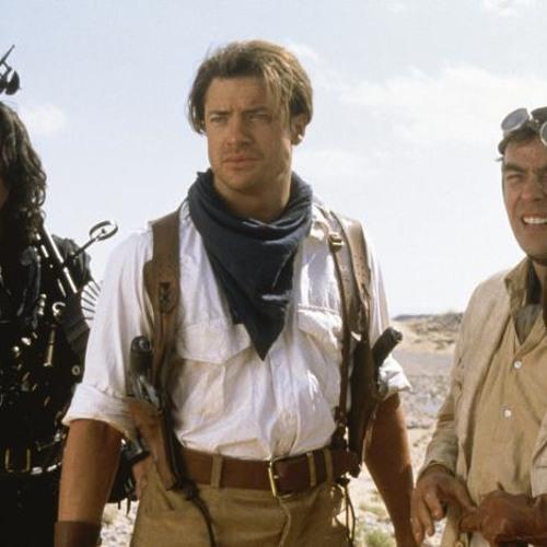 Roaming The Desert With Brendan Frasier