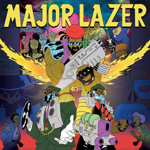 Major Lazer feat. Laidback Luke & Ms. Dynamite - Sweat