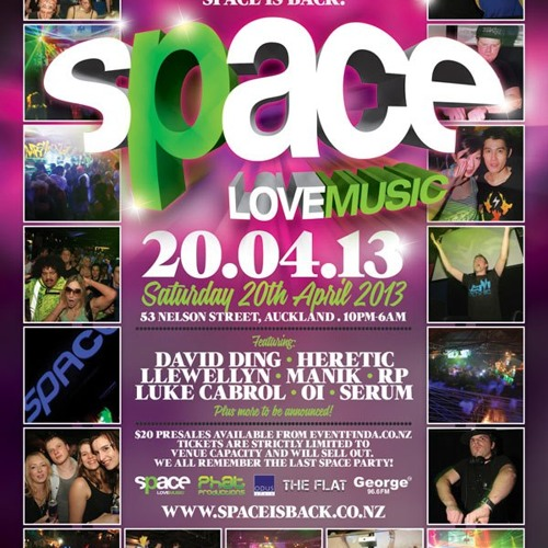 FREE DOWNLOAD - David Ding - Space is Back