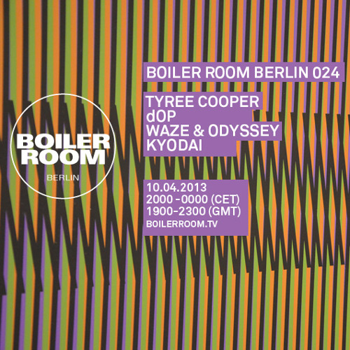 Waze & Odyssey 60 Min Boiler Room Berlin Mix