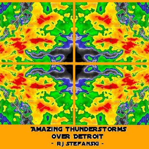 Amazing Thunderstorms over Detroit [Free High Quality Field Recording MP3]