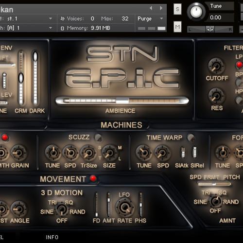 Epic 3 - Kontakt Drum Warp Module 1 - Demo 1