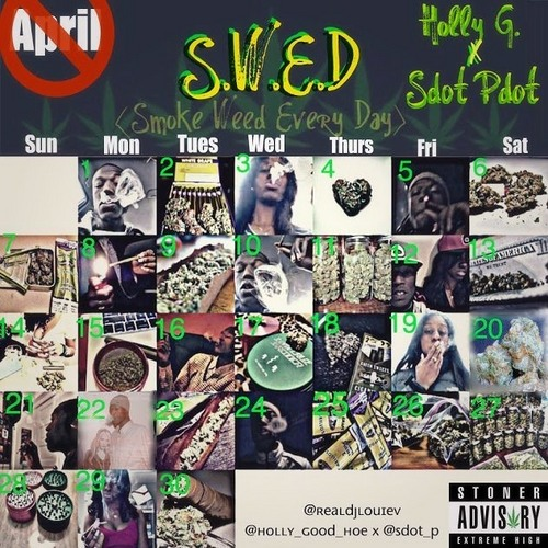 Holly G x Sdot Pdot - Smoke and Ride [prod by Trak Addicts]