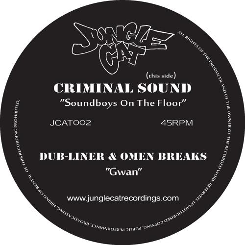 Dub-Liner & Omen Breaks - Gwan [ Vinyl Out Now! - JungleCat 002 ]