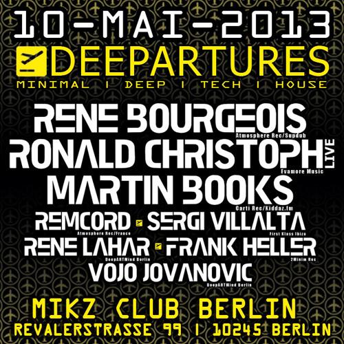 René Lahar - Ready for Deepartures - Mix 04-2013 **FREE DOWNLOAD**