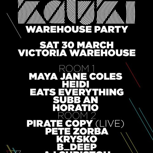 HORATIO LIVE @ WAREHOUSE PROJECT