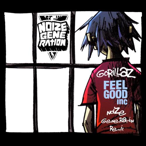 Gorillaz - Feel Good Inc (Noize Generation Remix)