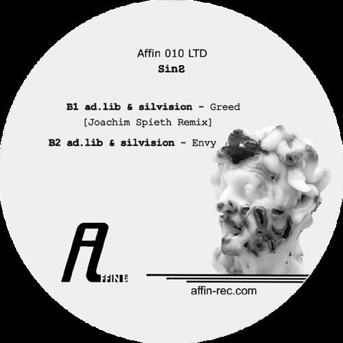 ad.lib & silvision - Greed (Joachim Spieth Remix) (Affin 010 LTD)