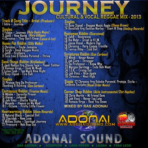 Adonai Sound JOURNEY 2013 Lovers & Culture Mix
