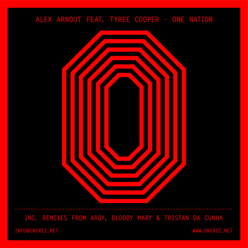 ONE 022 / ALEX ARNOUT FEAT. TYREE COOPER / ONE NATION E.P