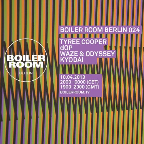 Waze & Odyssey 60 Min Boiler Room Berlin Mix