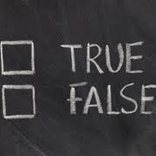 True or False - Ryan Parker - 04/22/13