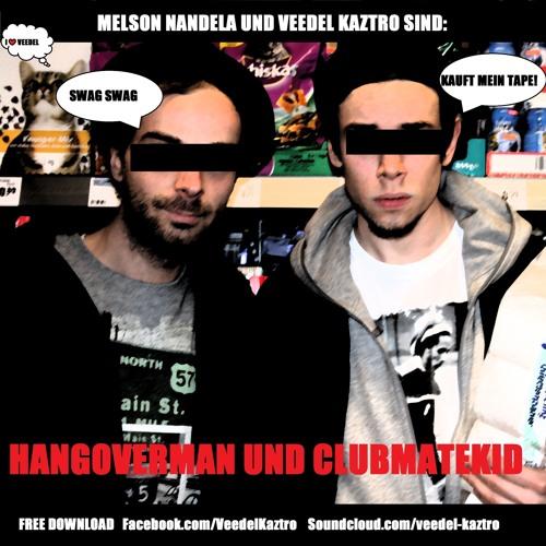 Veedel Kaztro - Nachlegen EP - Halb Mensch Halb Kater Cuts by Exzem