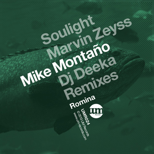 Mike Montano - Romina (Marvin Zeyss Remix) (UM Records)