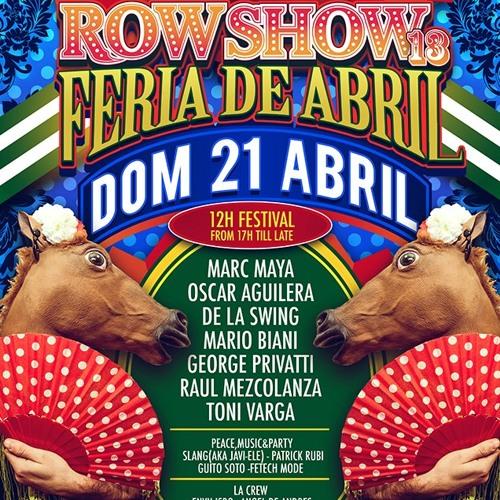 Fetech Mode@ ROW 14 Feria de abril 21/4/13