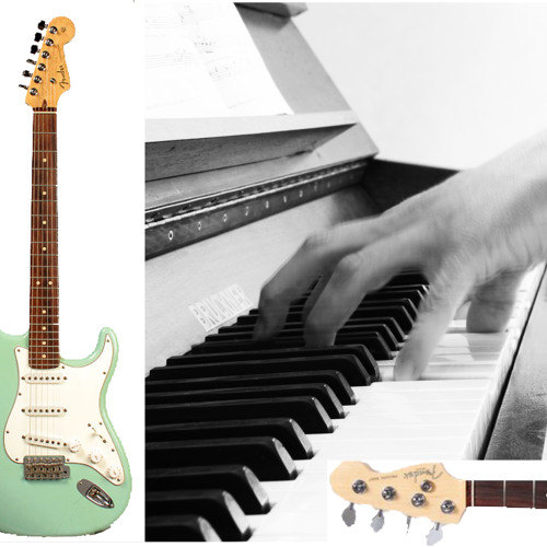 Instrumental Lounge with piano/keyboard & guitar/bass