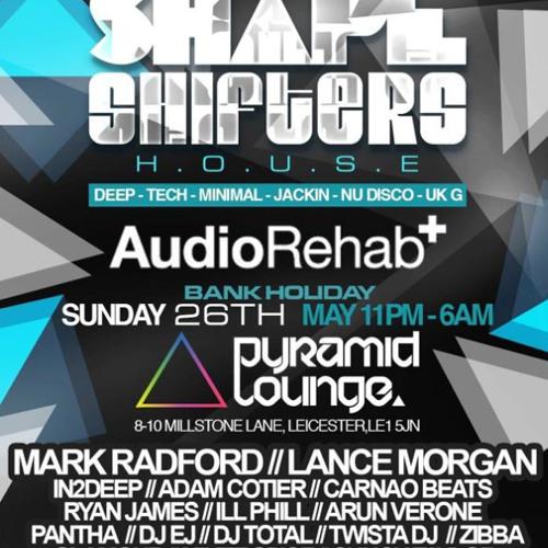 DJ EJ - Shapeshifters (26-05-13) House n Bass promo mix
