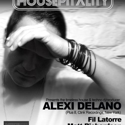 Alexi Delano | Live @ Housepitality 5/23/12 | Housepitalitysf.com