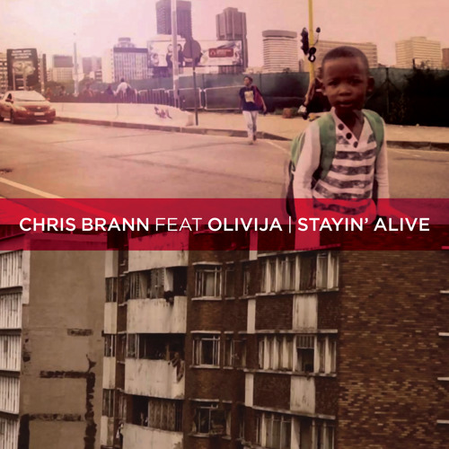 Chris Brann ft OLIVIJ∆ - Stayin' Alive ( The Bee Gees Cover )