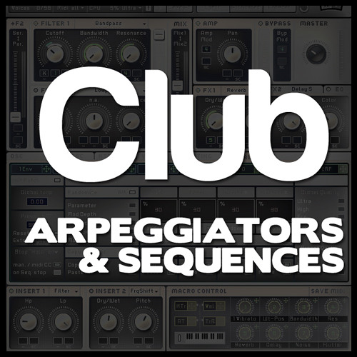 Speaker Feature Massive Club Arpeggiators & Sequences Soundbank