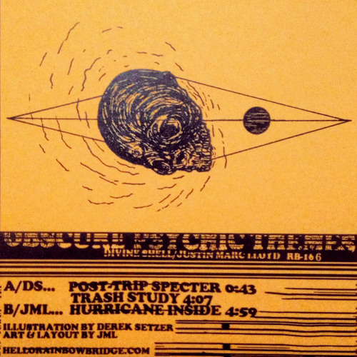divine shell, then justin marc lloyd - obscure psychic themes split c10 clips