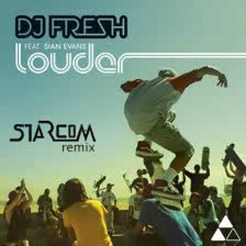 Fresh - Louder ft. Sian Evans (Starcom Remix)