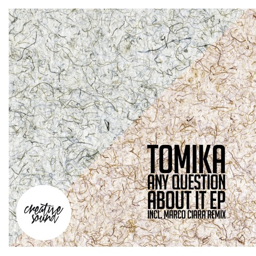 Tomika - Keep Walking (Original Mix) [Creative Sound Records]