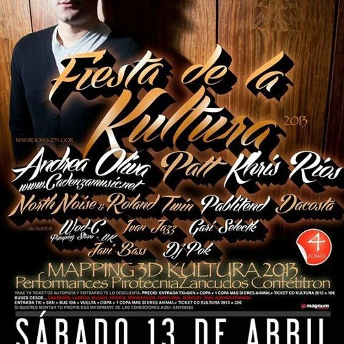 KHRIS RIOS (BLUM, TXITXARRO) - FIESTA DE LA KULTURA 13-04-2013