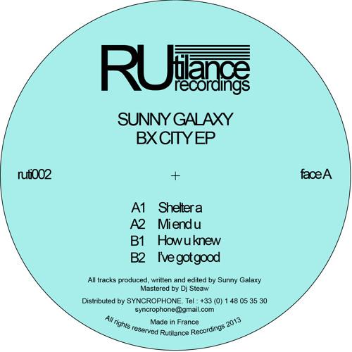 Sunny Galaxy - Bx City EP - ruti002