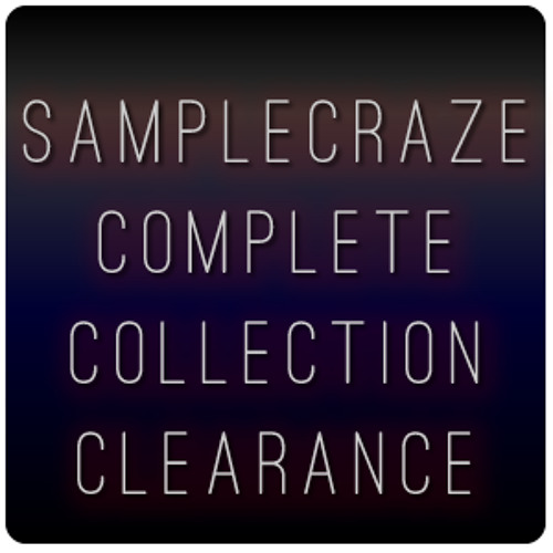 SampleCraze Mega Bundle Clearance - CRSNR9