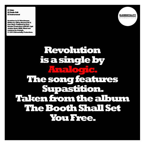 Analogic - Revolution (feat. Supastition) [Radio Edit]