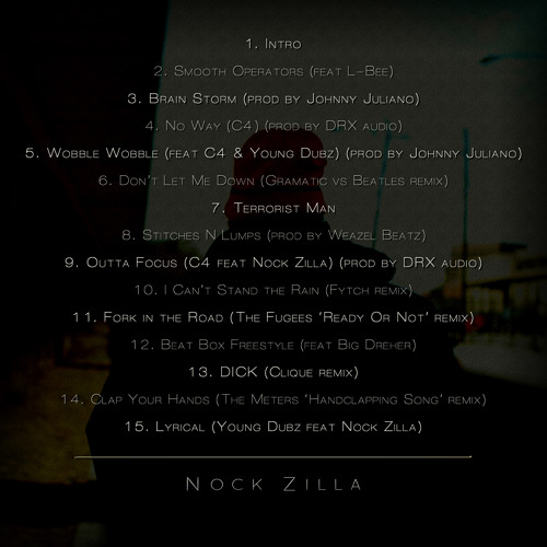 Nock Zilla Feat. C4 - NO WAY