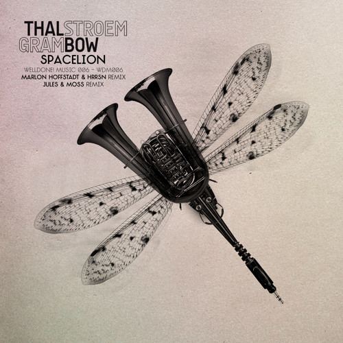 Thalstroem & Grambow - Spacelion (Marlon Hoffstadt & HRRSN Remix) - WellDone! Music (WDM006)