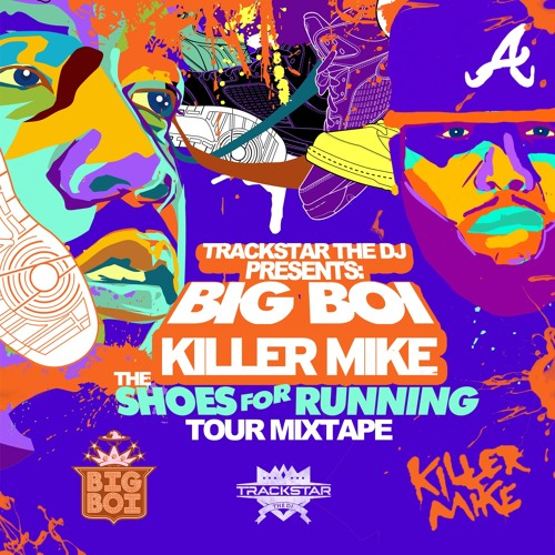 Shoes For Running Tour Mixtape by Trackstar the DJ