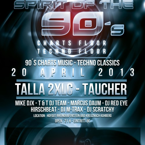 Spirit of the 90s 2013 Live Mix by MIKE DJX