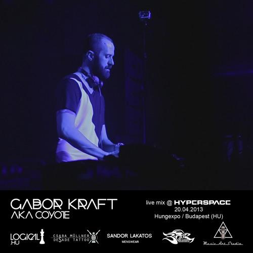 Gabor Kraft aka Coyote live mix @ Hyperspace 2013
