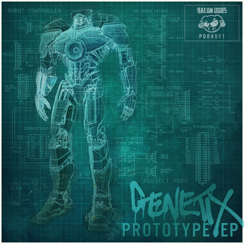 PORK011 - Genetix - Mankind [Preview Clip]