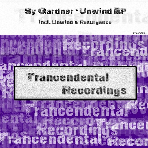 Sy Gardner - Resurgence (as heard on sean tyas tytanium 184) OUT SOON (Trancendental Recordings)