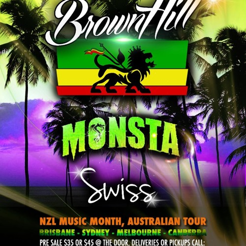 DJ DEEZE - Brownhill - Swiss - Monsta. Melbourne Show PROMO remixDEEZE