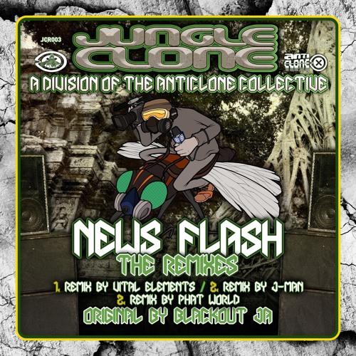 News Flash (Phatworld Remix) - Run Tingz Cru ft Blackout J.A [JCR003]