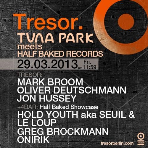 DJ Jon Hussey Tresor Bunker Live March 29 2013