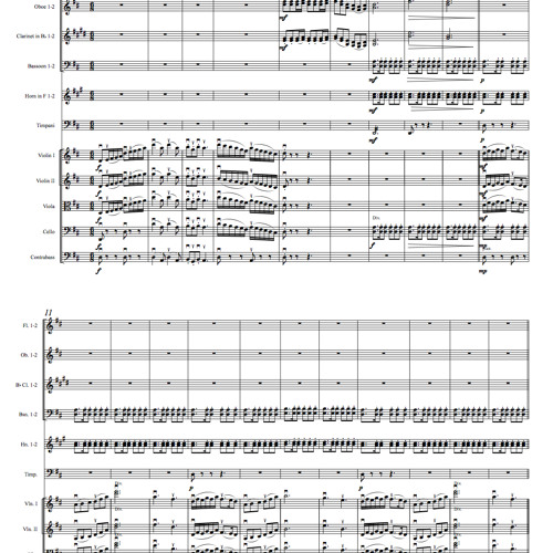 Suite for Orchestra No. 1, Op. 2 - III. Moderato
